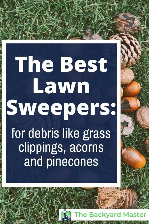 The best lawn sweepers for your yard.