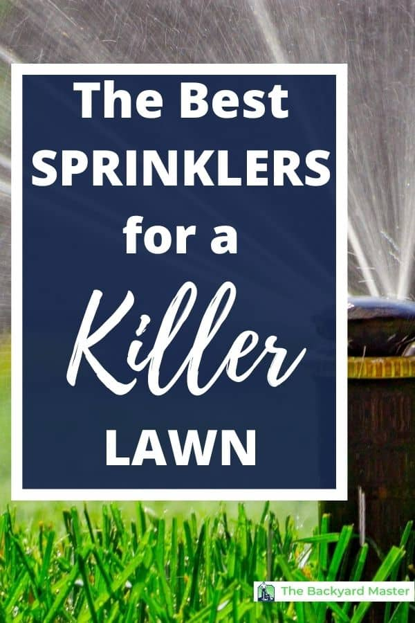 The best sprinkler heads for your lawn