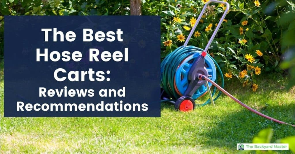 best hose reel carts, with hose reel cart in lawn