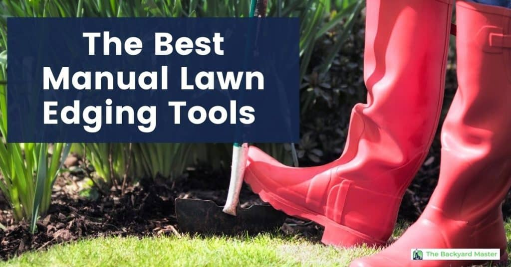 The best manual lawn edging tool