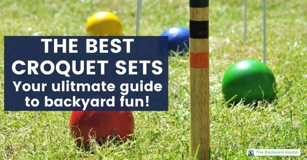 The best croquet sets